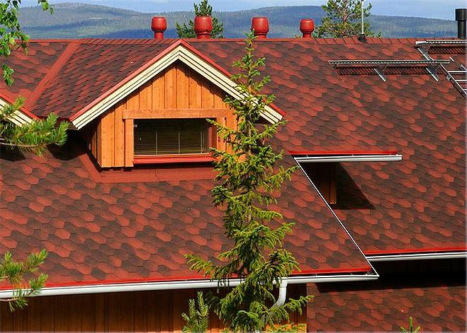 Скатная крыша своими руками фото